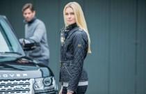 Barbour szyje dla Land Rovera