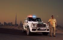 Brabus B63S – 700 Widestar: w Dubaju drogówka na bogato