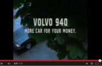 Reklamy warte uwagi: Volvo 940