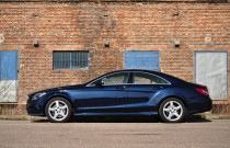 Banan po niemiecku: Mercedes CLS350 BlueTec