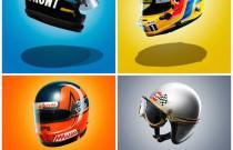 Bezcenna kolekcja – zobacz kaski asów F1 [MEGA ZDJĘCIA]