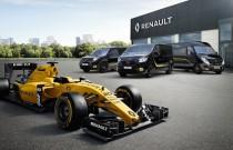 Dostawcze Renault w limitowanej edycji inspirowanej Formułą 1