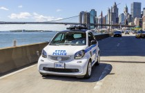 Nowojorska policja zamówiła 250 Smartów ForTwo