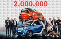 Smart sprzedał dwa miliony samochodów