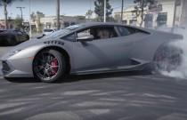 Czy można driftować Lamborghini Huracanem? Można, nawet bardzo efektownie