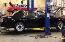 Posłuchaj jak brzmi Rolls-Royce bez układu wydechowego