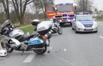 Potrącił policjanta i próbował uciec