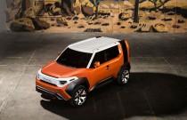 Toyota FT-4X Concept – crossover 4x4 dla pokolenia wychowanego na klockach Lego
