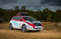 Nissan Leaf weźmie udział w Rajdzie Mongolii!