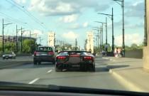 Lamborghini Aventador i BMW M6 gnały po Warszawie z prędkością ponad 200 km/h!