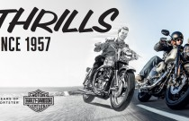 60 lat motocykli Harley-Davidson Sportster