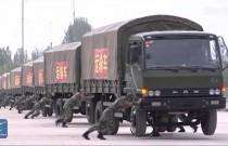 Chińska armia znalazła sposób na zawracanie konwoju w miejscu