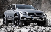 Oto Mercedes Klasy E, którym nie strach zjechać z asfaltu!