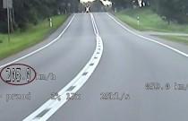 Nietrzeźwy motocyklista gnał z prędkością ponad 200 km/h