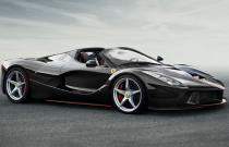 Ferrari zbuduje jeden egzemplarz LaFerrari Aperta w celu charytatywnym