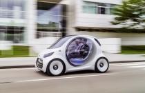 Smart Vision EQ ForTwo Concept: wizja elektrycznego autka do miasta według Smarta