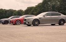 Co jest najszybsze - Mercedes-AMG E63S, BMW M5 czy Audi RS5?