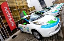 20 elektrycznych taksówek Nissan Leaf wyjedzie na warszawskie ulice