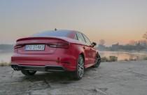 Audi A3 Limousine/fot. Łukasz Kuźmi...
