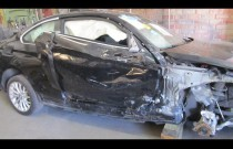 Rosyjski blacharz-wirtuoz zajął się rozbitym BMW Serii 2
