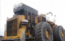 Odpalanie potężnych maszyn na mrozie