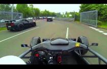 Przejazd Ariela Atoma po Nurburgringu