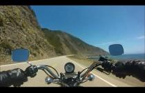 Przejażdżka Harleyem po Pacific Coast Highway w Kalifornii