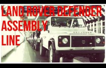 Tak montowano Land Rovery Defendery