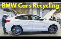 Proces recyklingu przedprodukcyjnych aut BMW i Mini