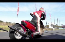 Japoński drag race skuterami