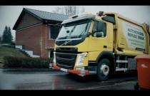 Autonomiczna śmieciarka Volvo