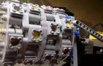 Działanie silnika gwiazdowego pokazane za pomocą klocków Lego
