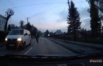 A rowerem po ulicy jeżdżę tak