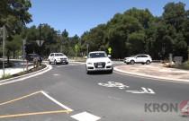 Tak amerykańscy kierowcy radzą sobie z rondem w Kalifornii