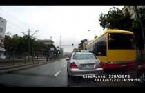 Warszawski taksówkarz w akcji