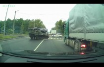 Drift pojazdem opancerzonym po rosyjsku