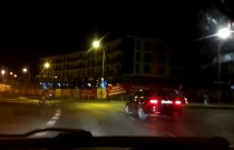 Rowerzysta nocą