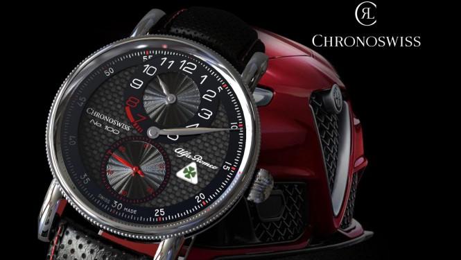 Chronoswiss Alfa Romeo Quadrifoglio...