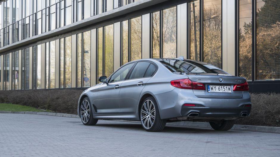 BMW 540i/fot. Łukasz Kuźmiuk