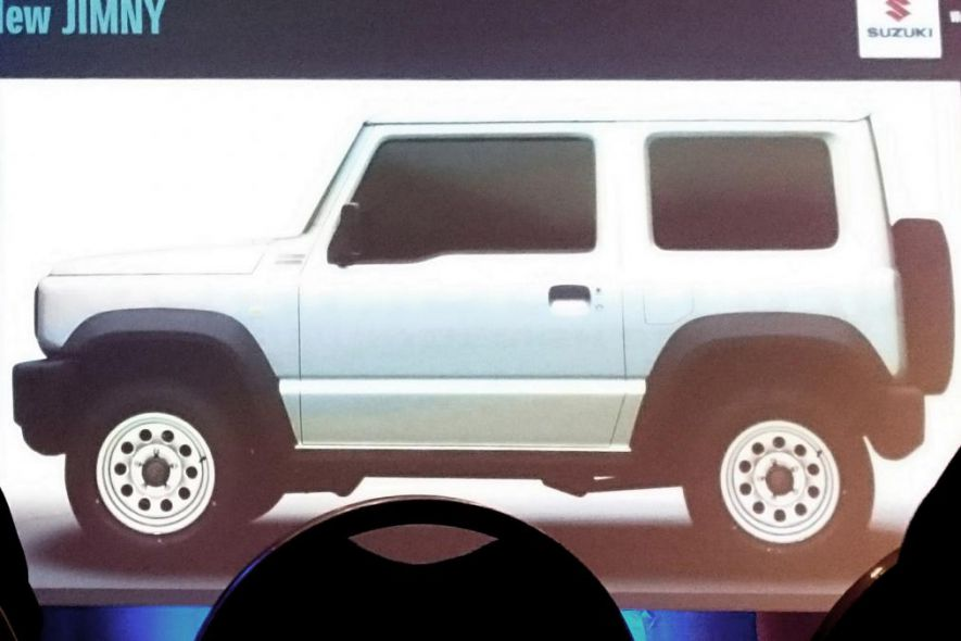 Wyciekły zdjęcia nowego Suzuki Jimny - 2