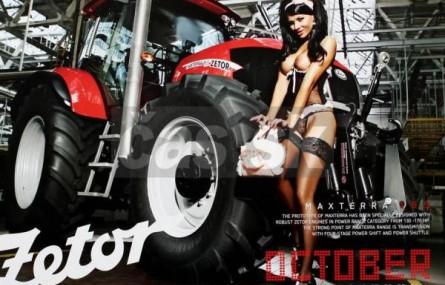 Kalendarz z... traktorami