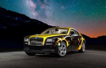 Kosmiczny Rolls-Royce Wraith Antonio Browna