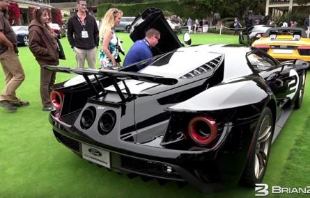 Posłuchaj jak brzmi nowy Ford GT!