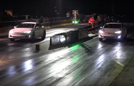 Tesla Model S P90D vs. Tesla Model S P100D - jak duża jest różnica w przyspieszeniu?