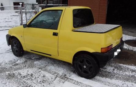 Fiat Cinquecento pick-up czeka na nowego właściciela