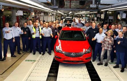 Rekord gliwickiej fabryki Opla: ponad 200 tys. aut wyprodukowanych w tym roku