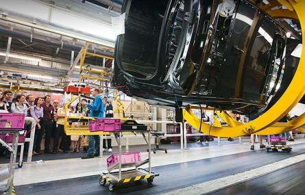 Naćpani Polacy zatrzymali produkcję fabryki BMW
