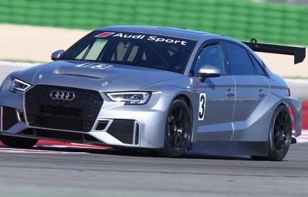 Audi RS 3 LMS z impetem wchodzi w świat wyścigów TCR