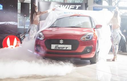 Suzuki Swift na pokazach w całej Polsce