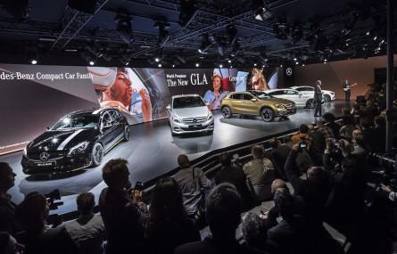 Detroit Motor Show zaczynamy od... Mercedesa GLA